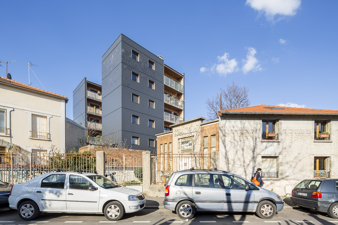 Sergio grazia rei france graam architecte logements for Architecte france
